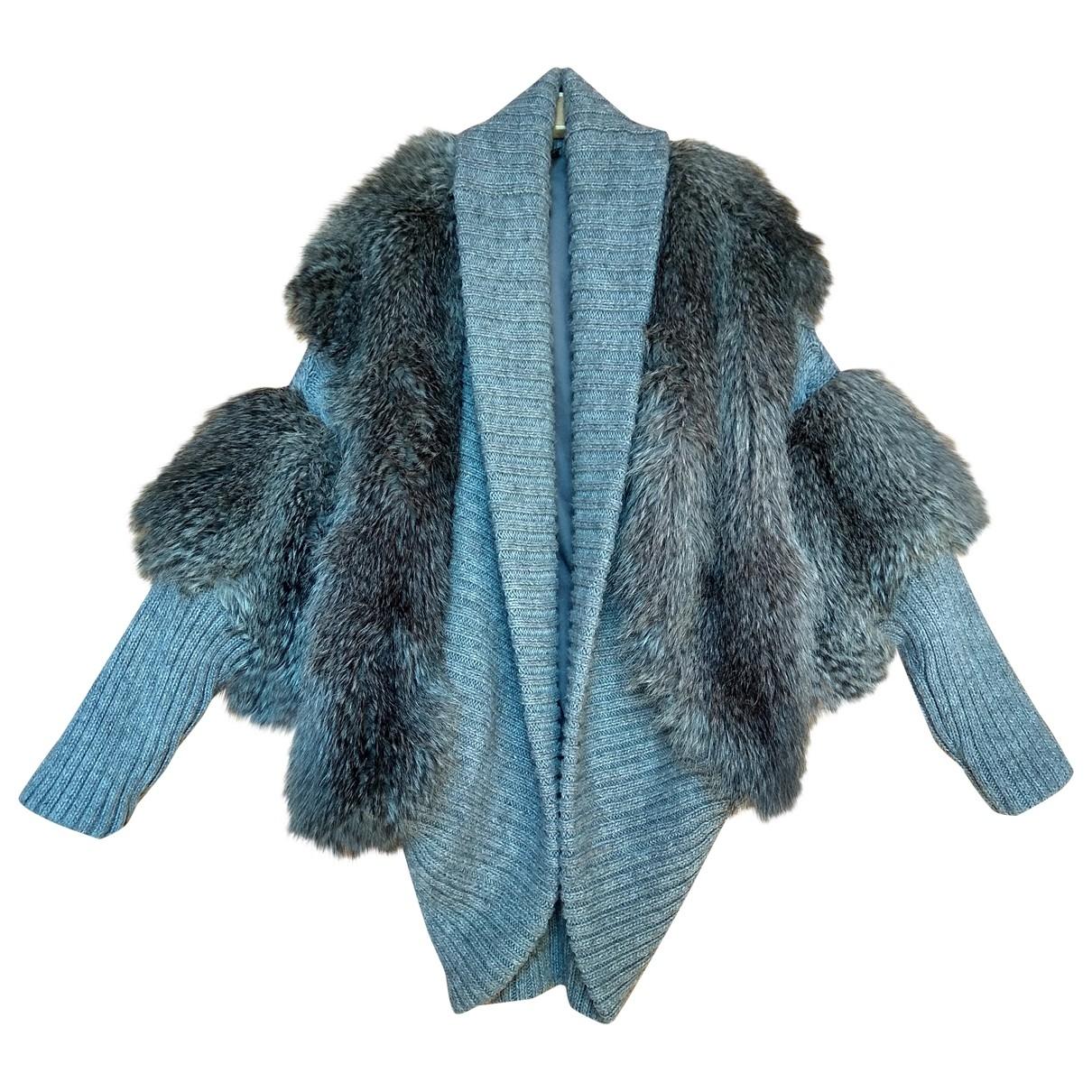 tophop \N Grey Faux fur jacket for Women M International