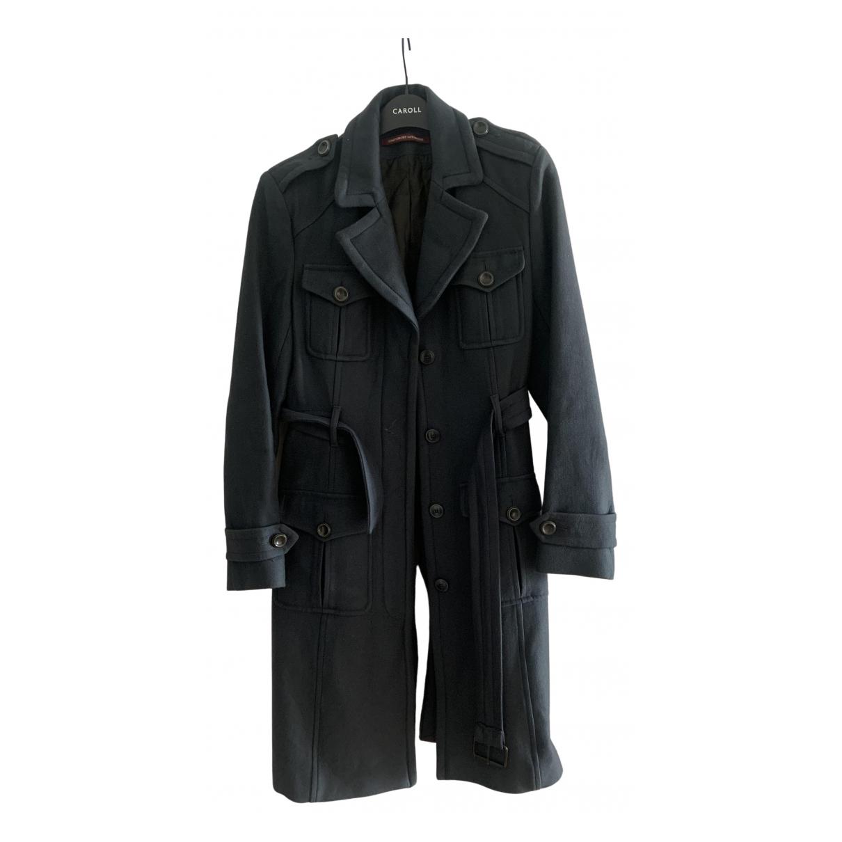 Comptoir Des Cotonniers - Manteau   pour femme en coton - gris
