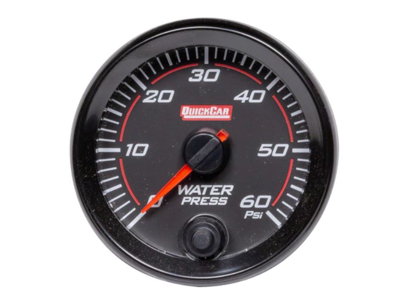 Quickcar Racing Products Redline Gauge Water Pressure