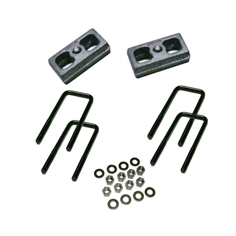 Superlift 3897 2.5 Rear Block Kit - 99-06 GM 1500 PU/99-10 2500 PU & SUV