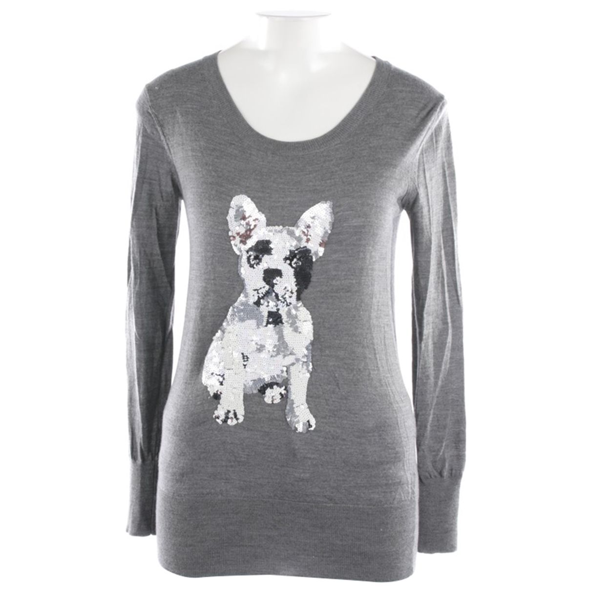 Markus Lupfer N Grey Wool Knitwear for Women XS International