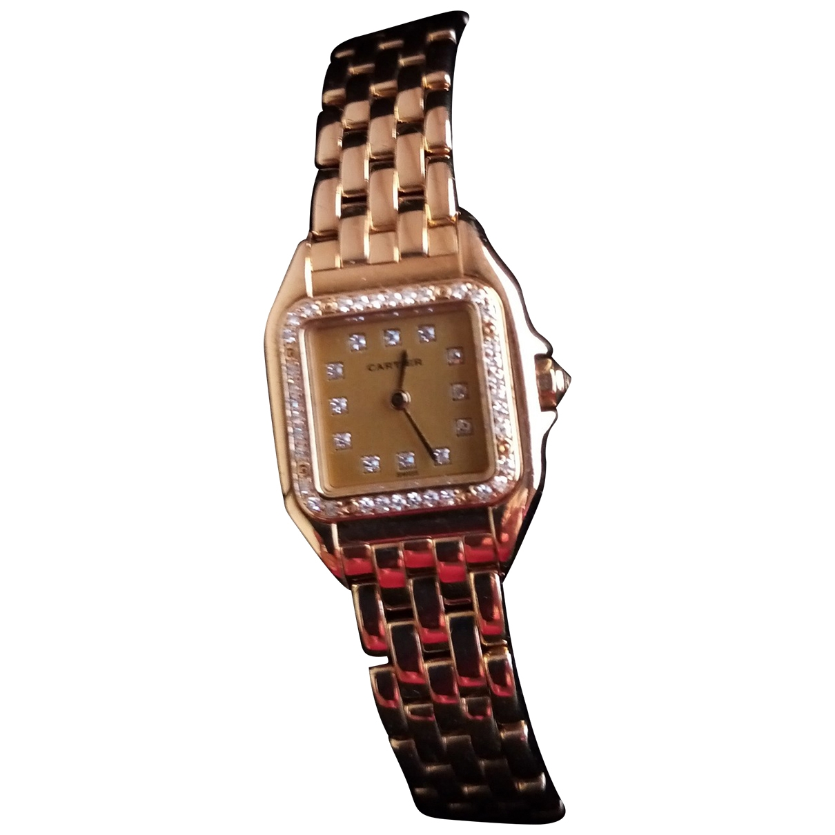 Cartier Panthère Gold Yellow gold watch for Women \N