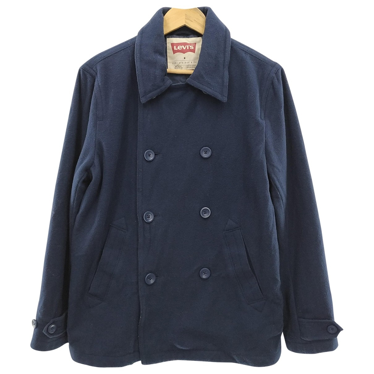 Levi's \N Blue Wool coat  for Men M International