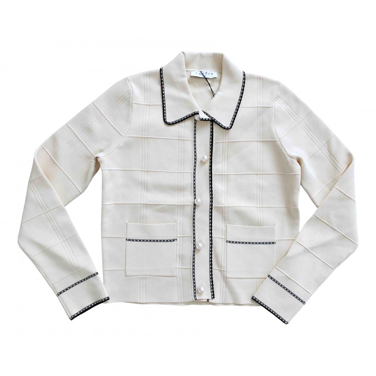 Sandro \N Ecru jacket for Women 36 FR