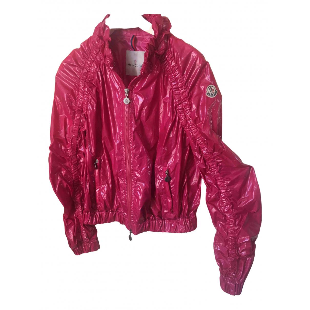 Moncler - Veste   pour femme - rose