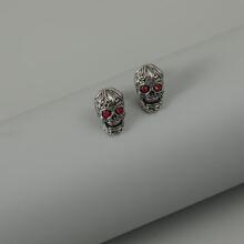 Pendientes de hombres con diamante de imitacion