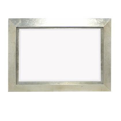 BM211054 Contemporary Style Rectangular Wooden Frame Wall Mirror