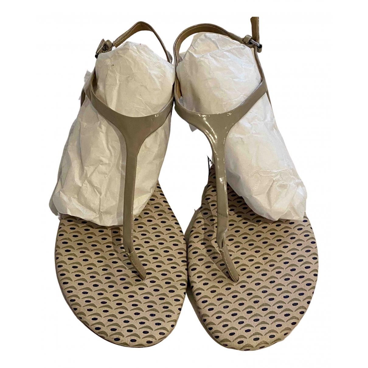 Splendid \N Sandalen in  Grau Kunststoff