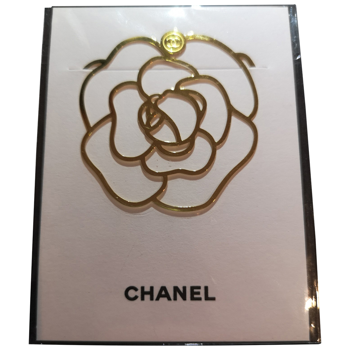 Chanel \N Gold Metal Home decor for Life & Living \N