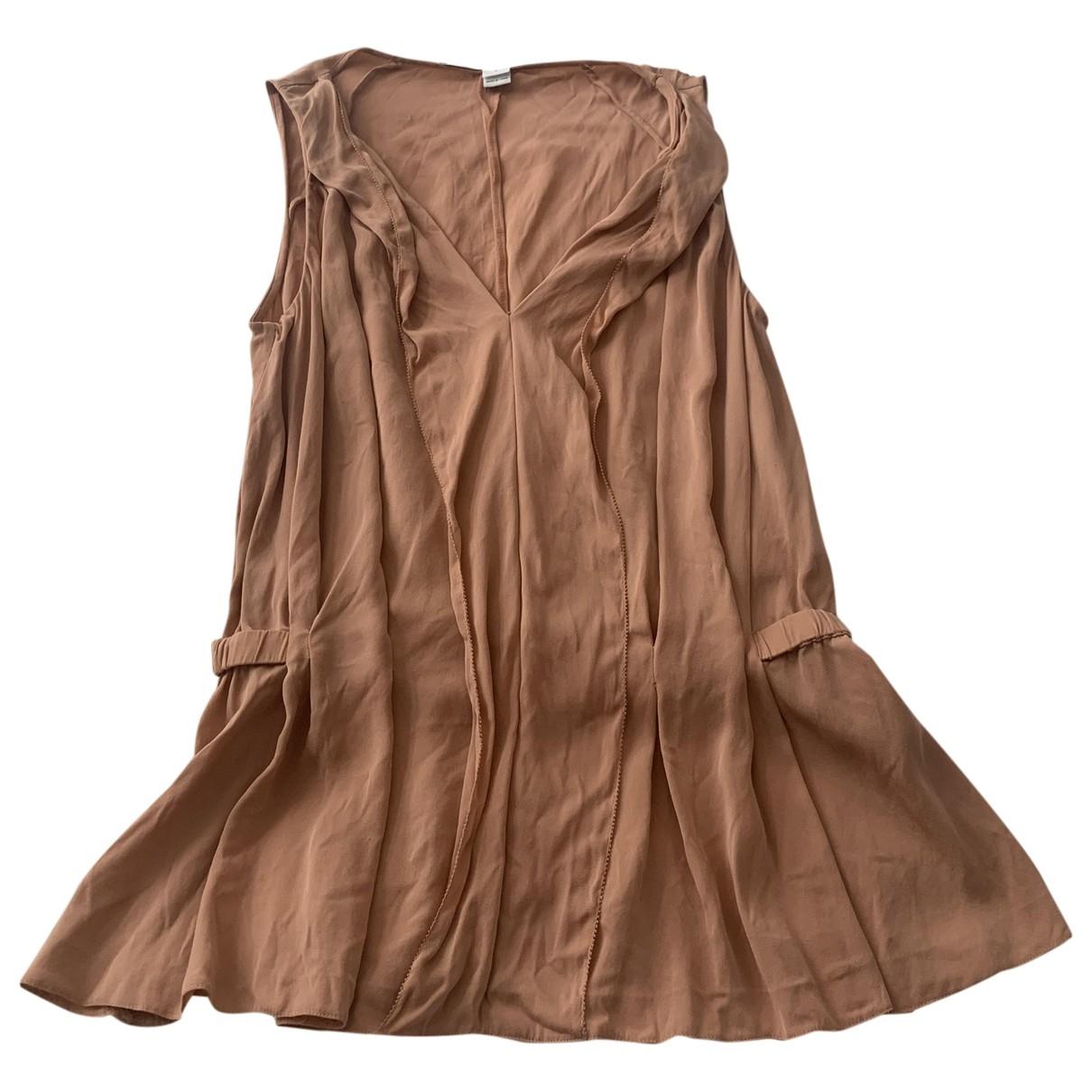 Diane Von Furstenberg \N Beige Silk  top for Women 8 US
