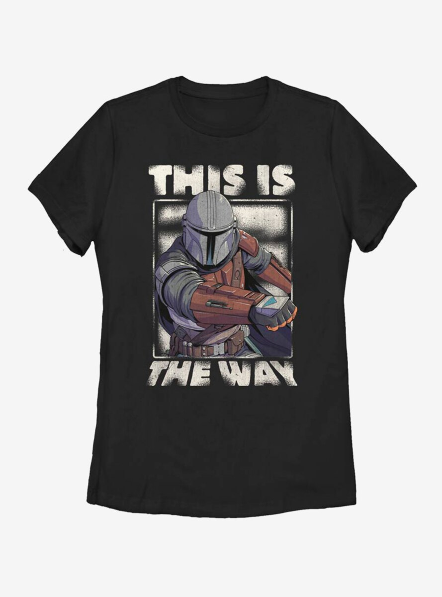 Star Wars The Mandalorian This Is The Way Womens T-Shirt