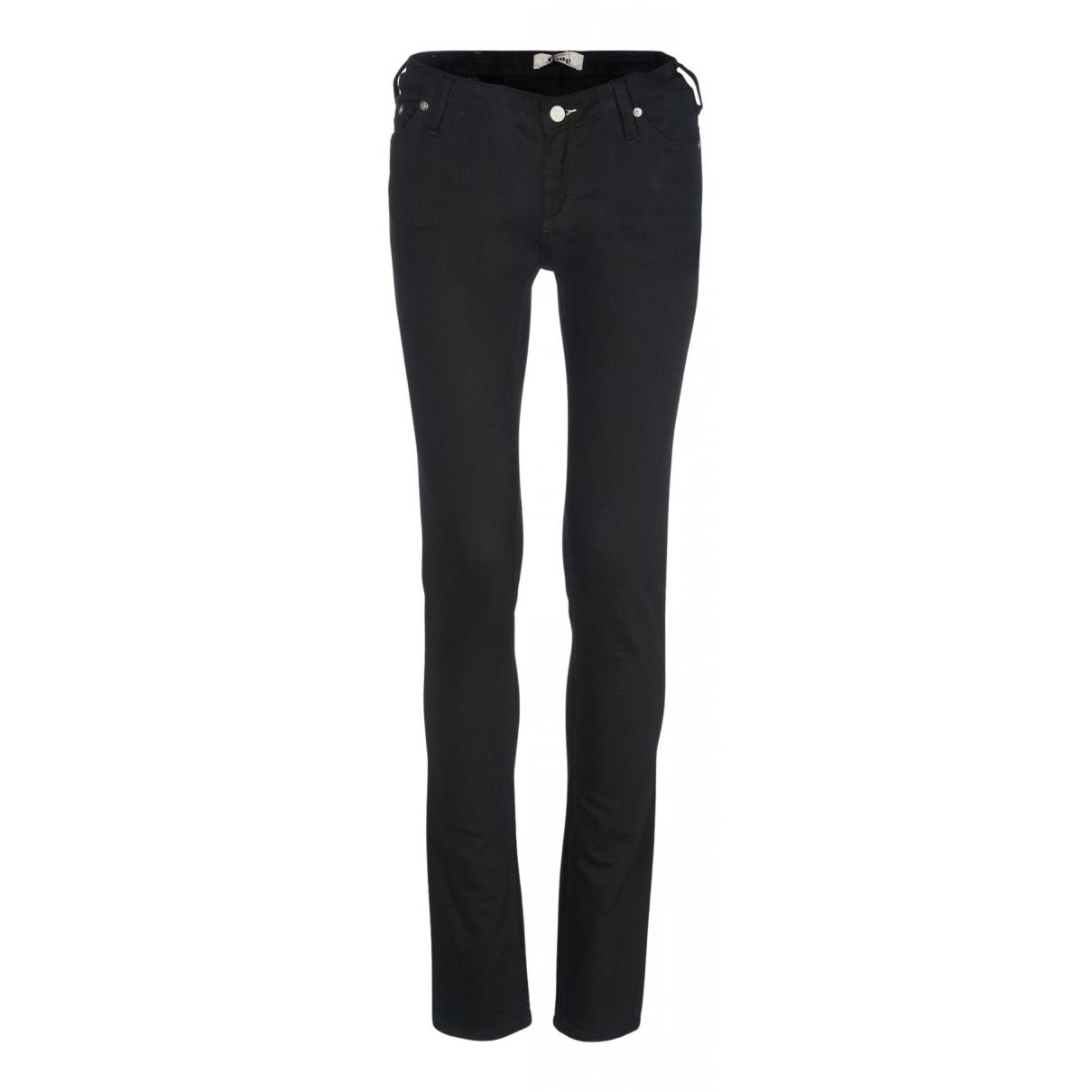 Acne Studios N Black Cotton Jeans for Women 22 US