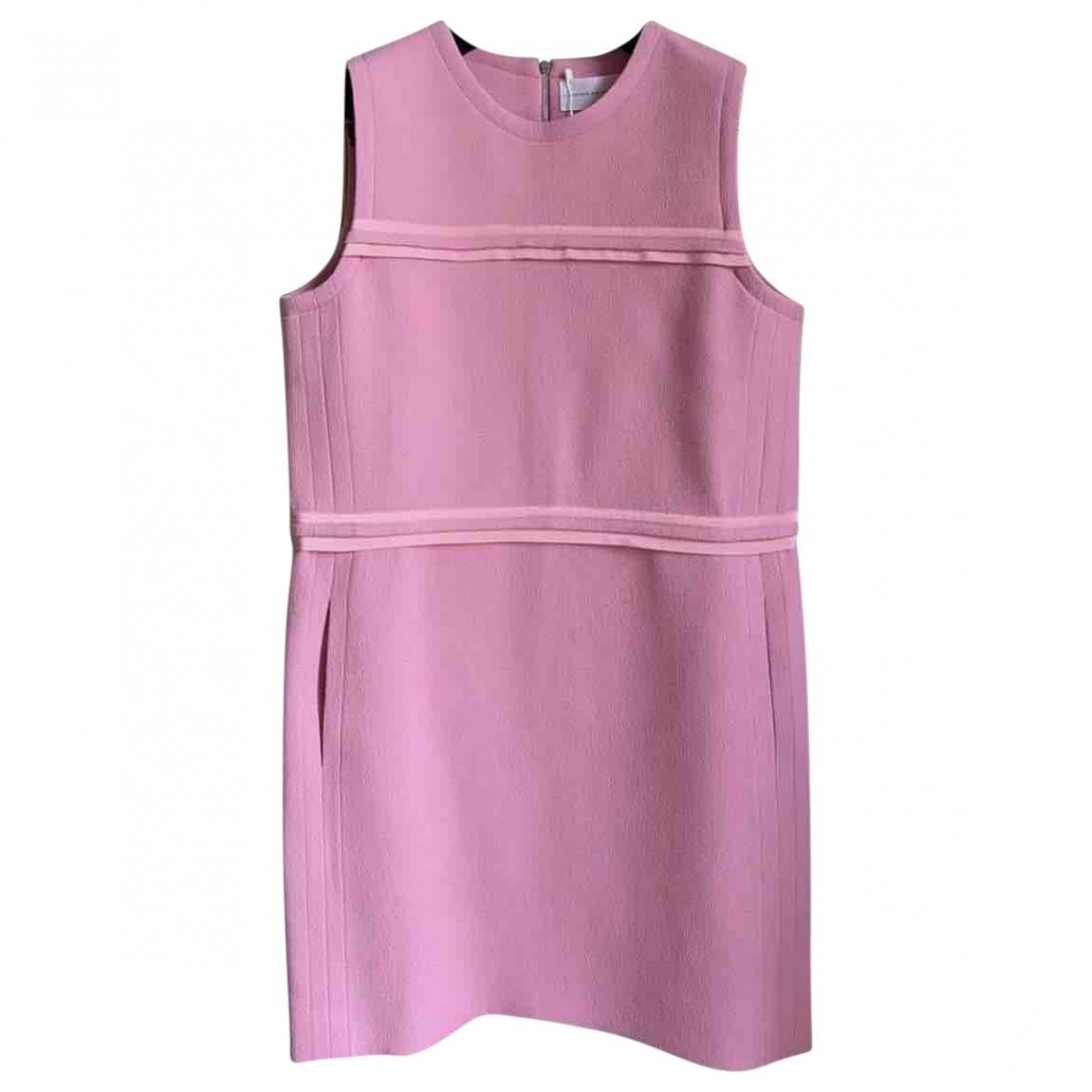 Victoria, Victoria Beckham \N Kleid in  Rosa Wolle