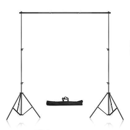 Support de fond réglable Support de toile de fond photo crossbar, 8.69x9.84ft/2.65x3m - PrimeCables®
