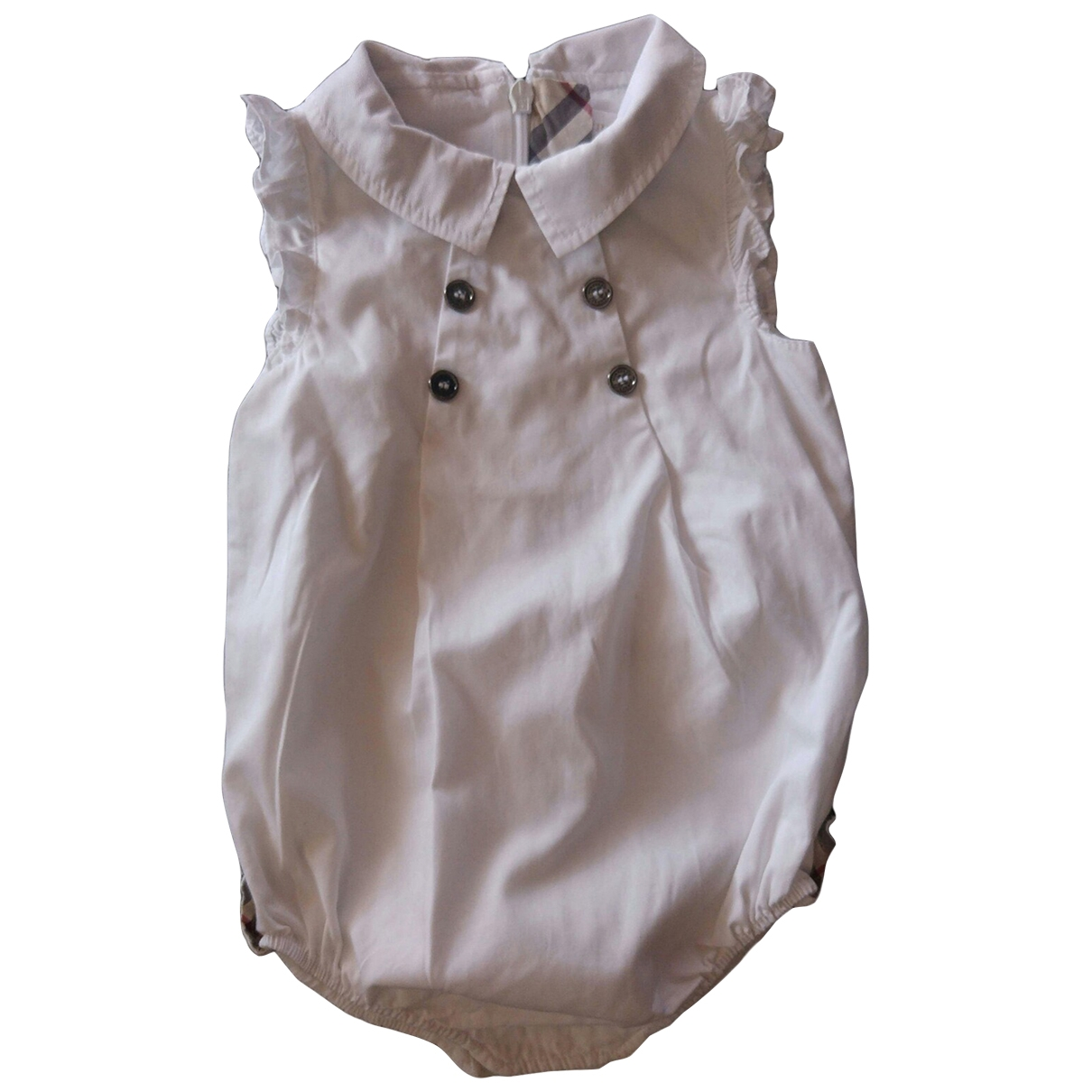 Burberry \N White Cotton Outfits for Kids 6 months - up to 67cm FR