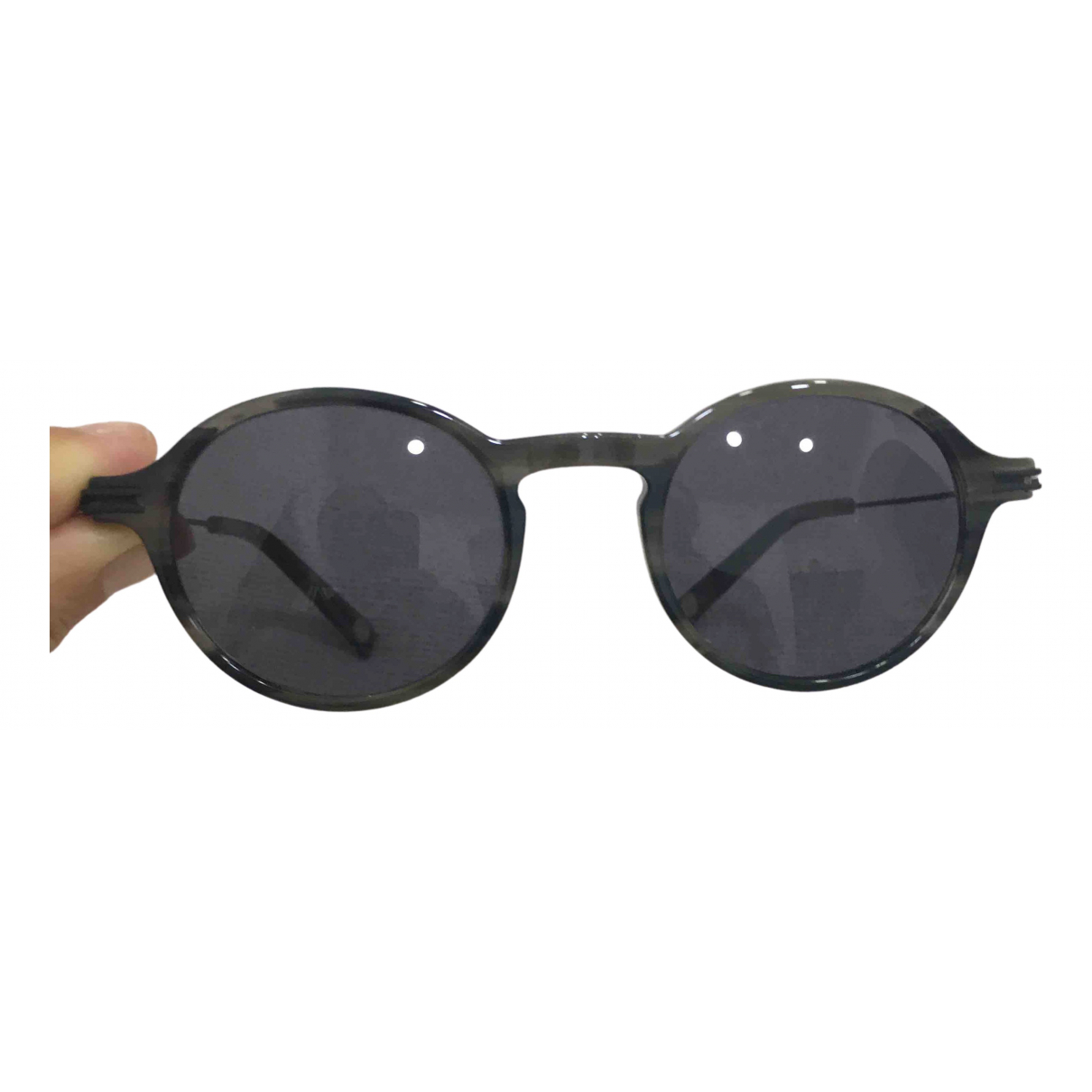 Non Signé / Unsigned \N Grey Sunglasses for Men \N