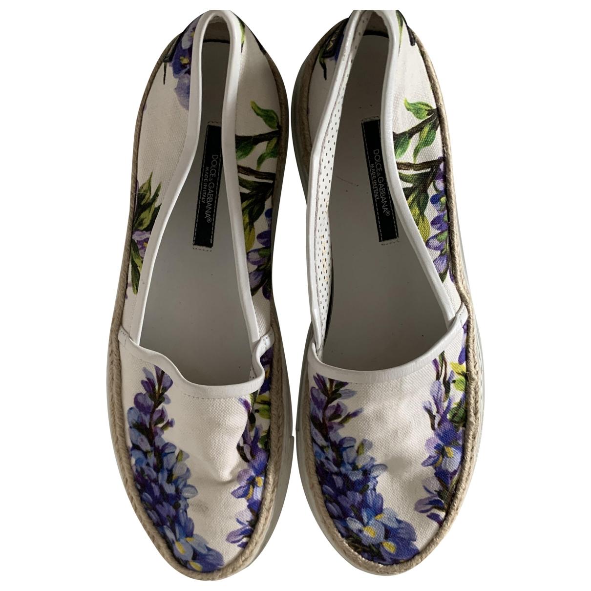 Dolce & Gabbana \N Espadrilles in Leinen