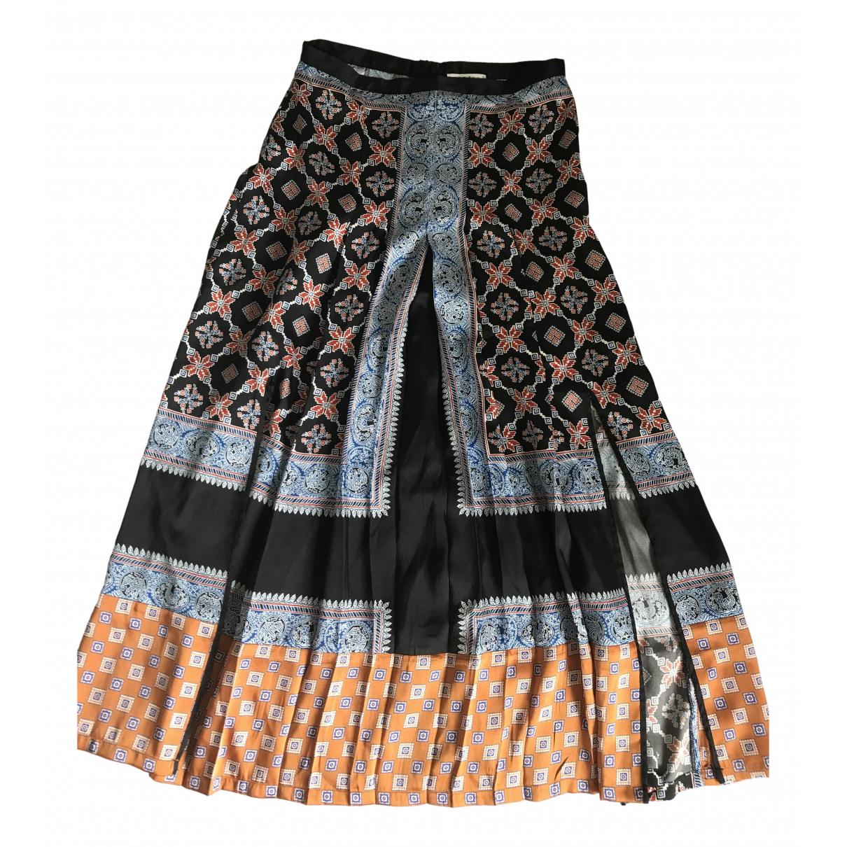 Sandro \N Multicolour Silk skirt for Women 1 0-5