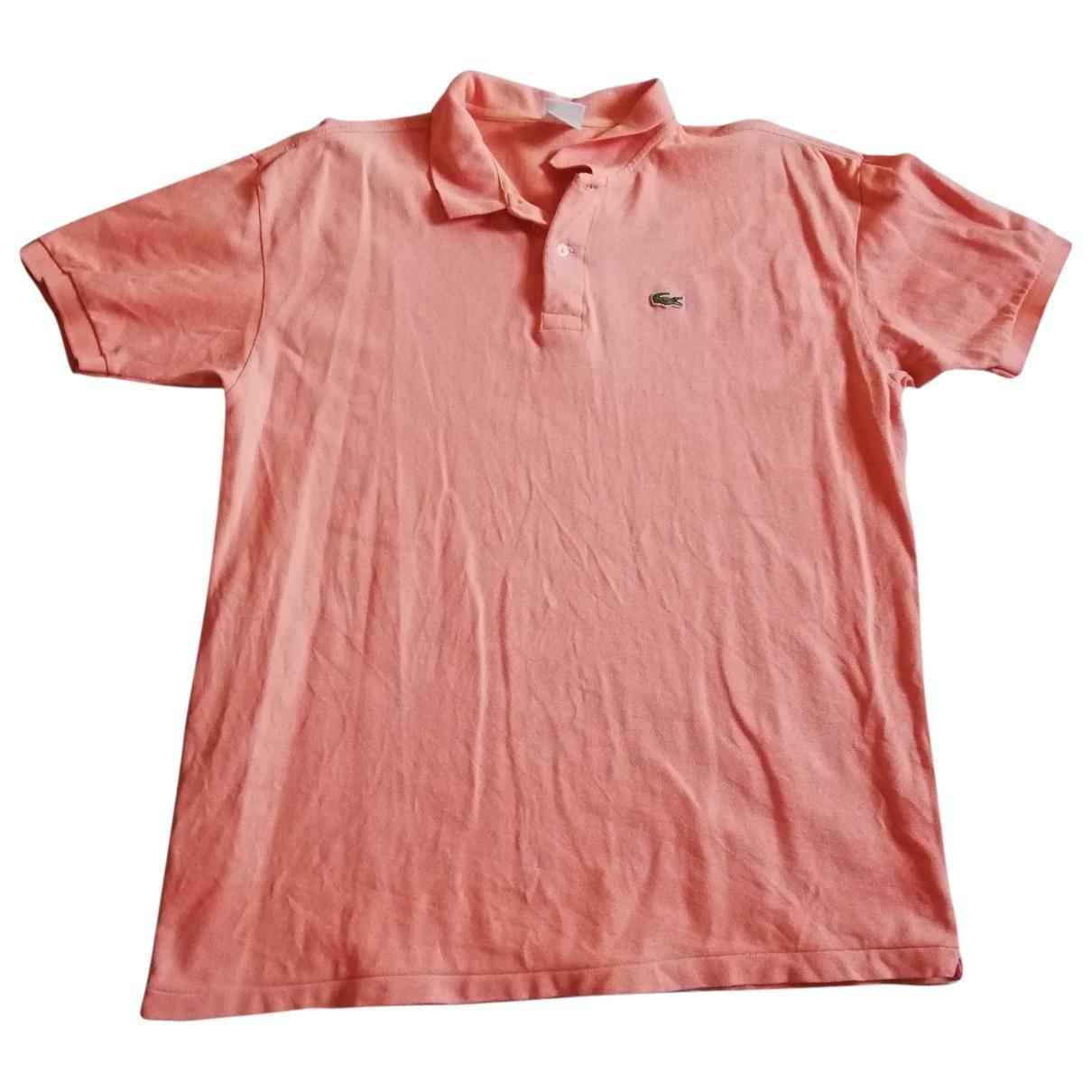 Lacoste \N Poloshirts in  Orange Baumwolle