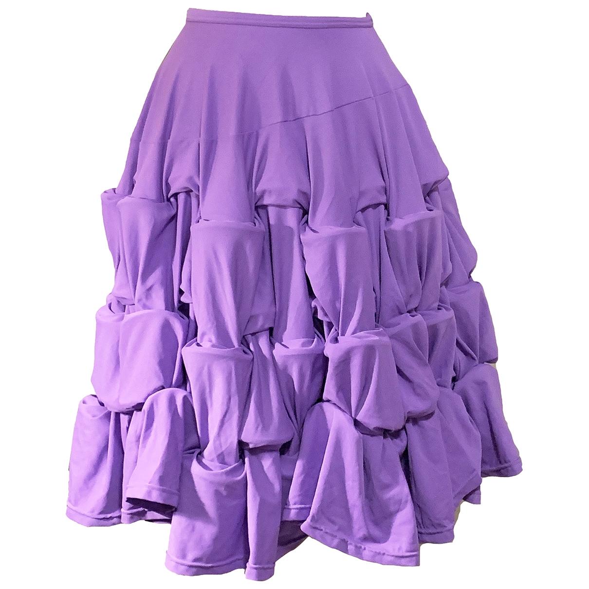 Comme Des Garcons \N Purple skirt for Women S International