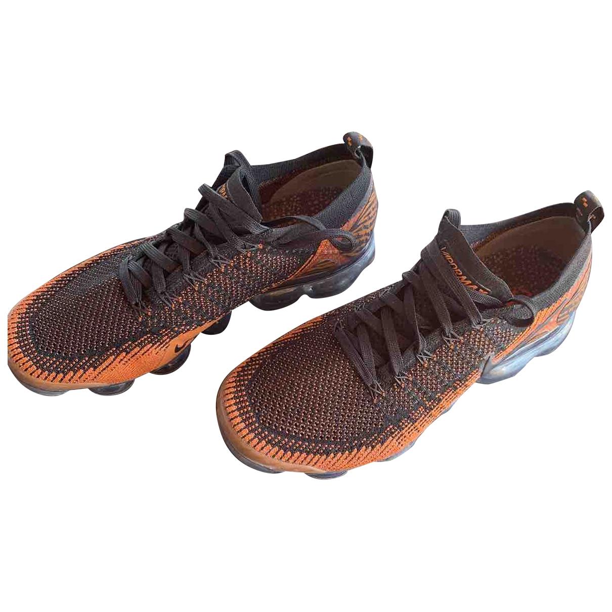 Nike Air VaporMax Black Cloth Trainers for Men 42.5 EU
