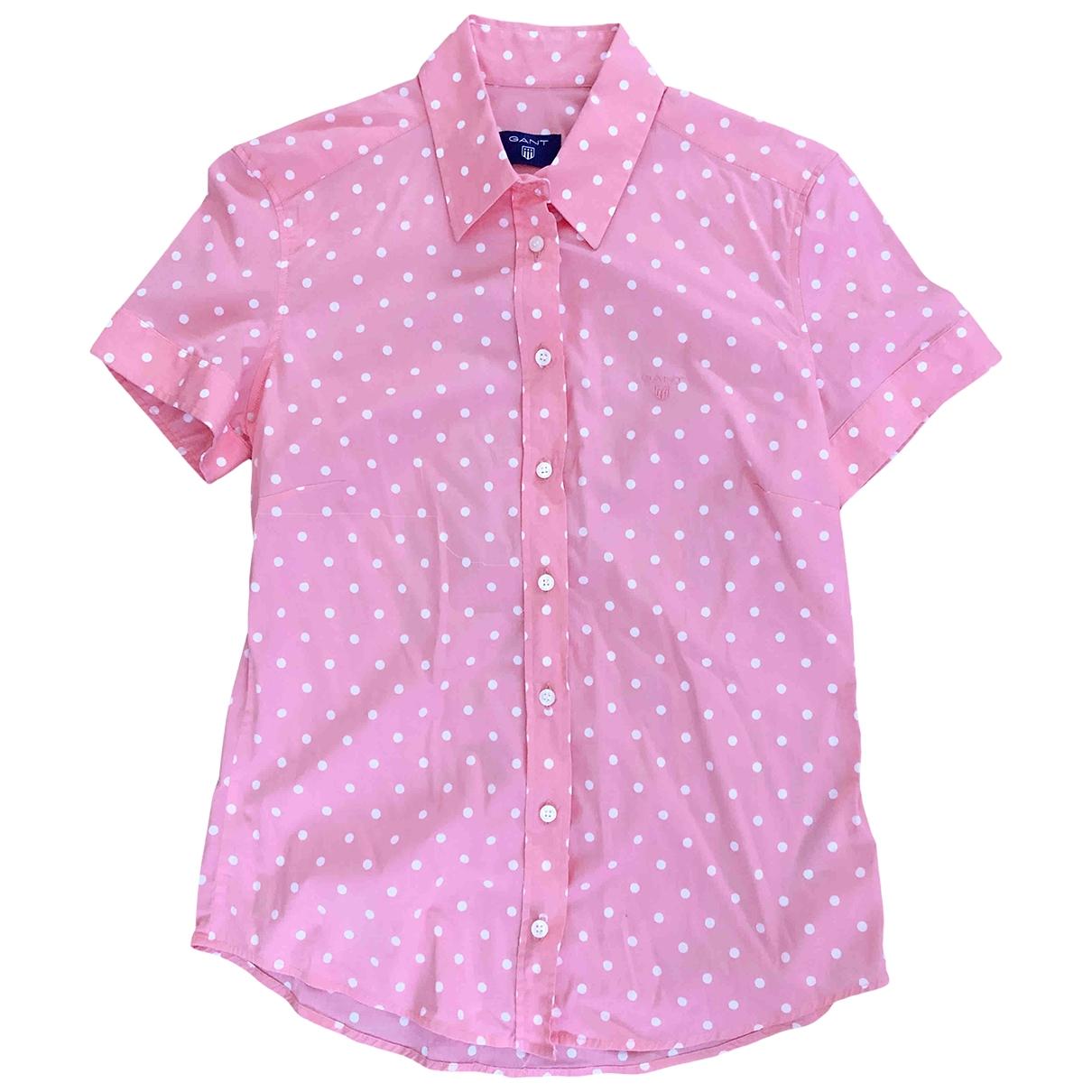 Gant Rugger \N Pink Cotton  top for Women 38 FR