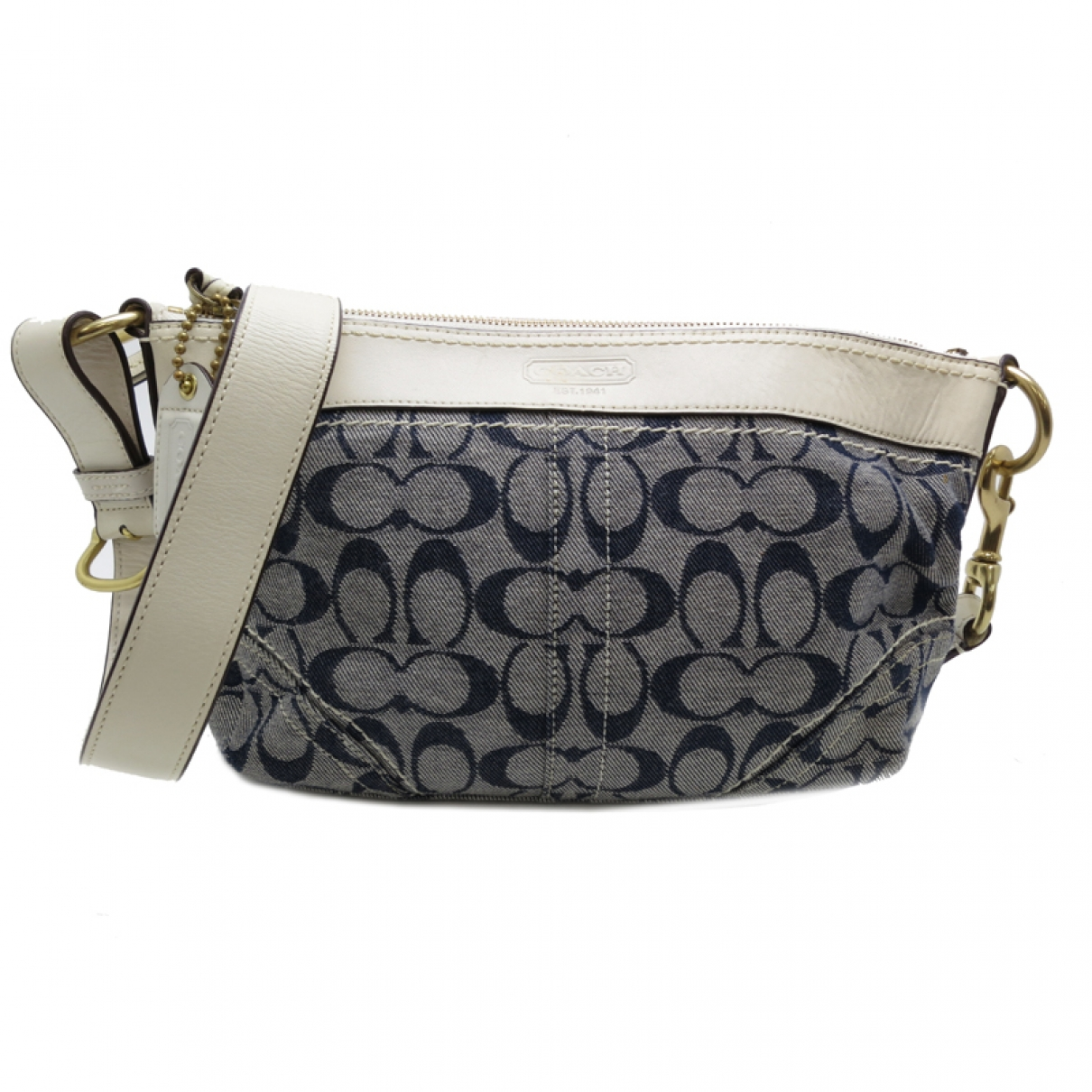 Coach \N Ecru Cloth handbag for Women \N