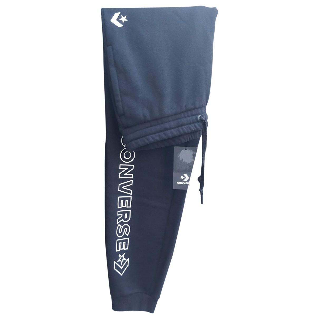 Converse \N Black Cotton Trousers for Men S International
