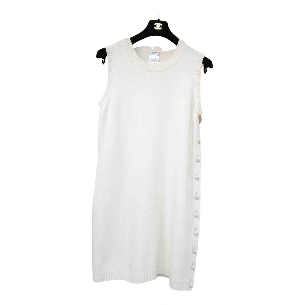 Chanel \N Ecru Cashmere dress for Women 44 FR
