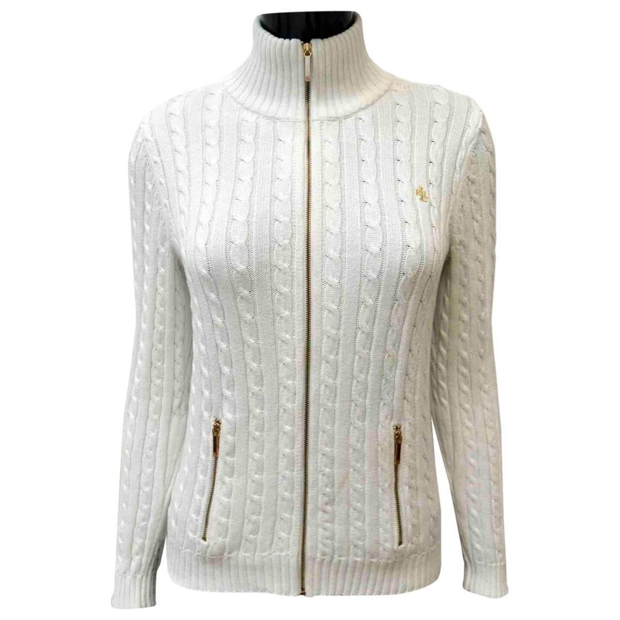 Lauren Ralph Lauren \N Pullover in  Weiss Baumwolle