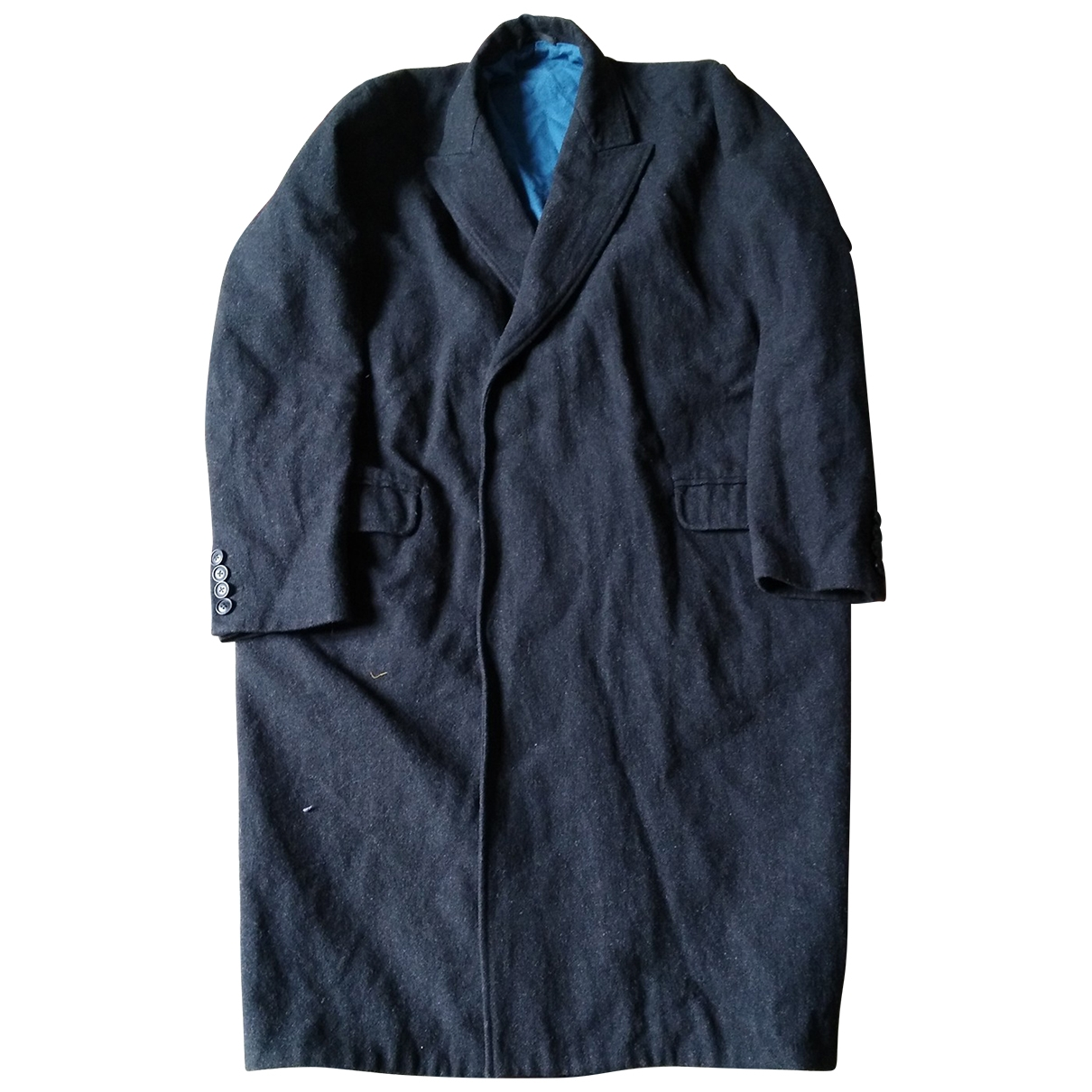 John Rocha \N Anthracite Wool coat  for Men 38 UK - US
