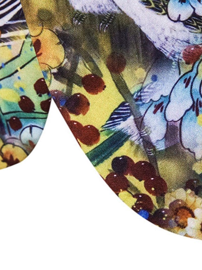 Ericdress Fashion Notched Lapel Floral Men's Leisure Blazers