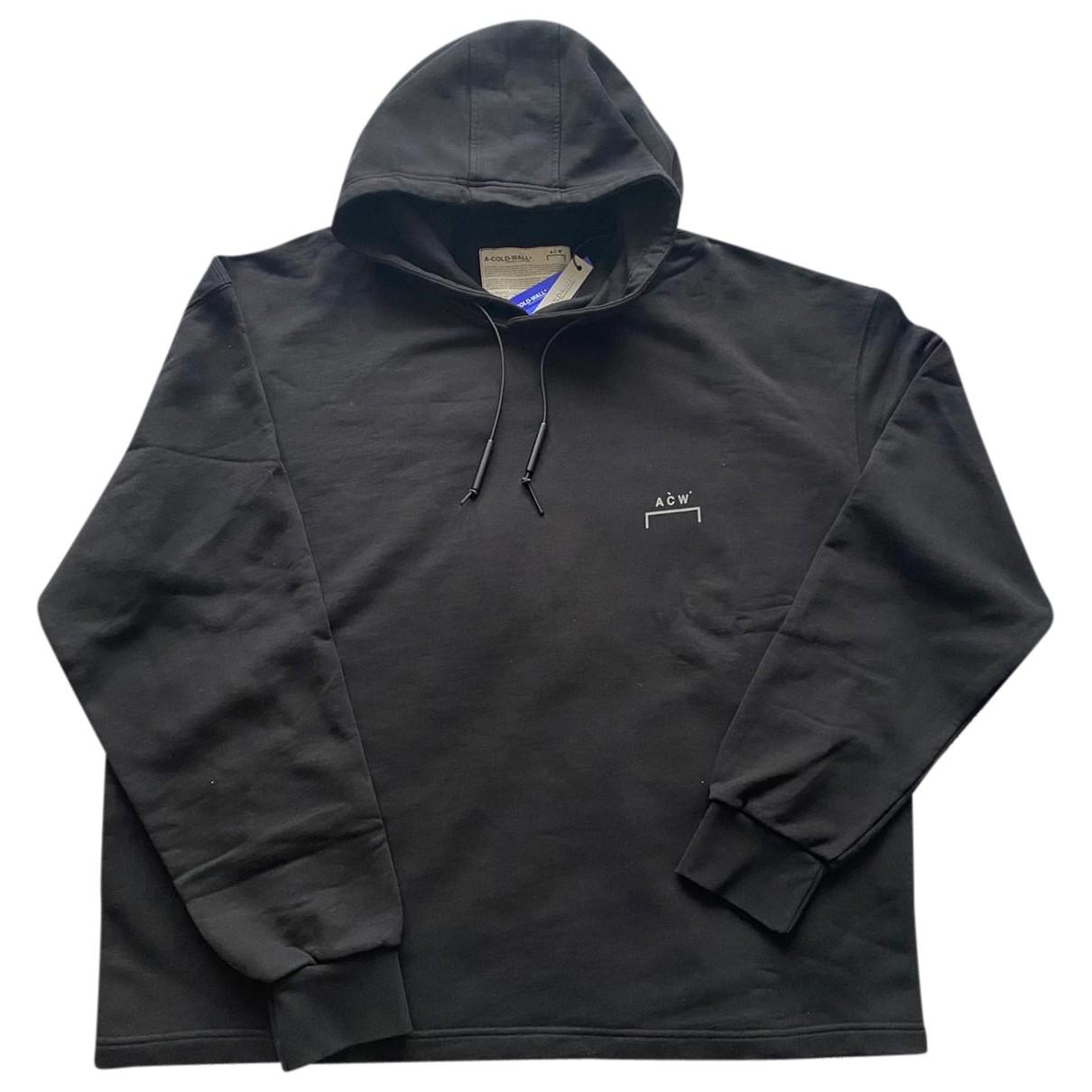 A-cold-wall \N Black Cotton Knitwear & Sweatshirts for Men XXL International
