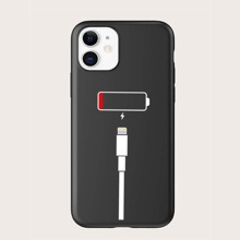 Low Battery Line Icon iPhone Case