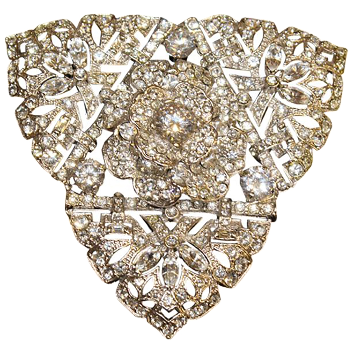 Carlo Zini \N Metallic Metal Pins & brooches for Women \N