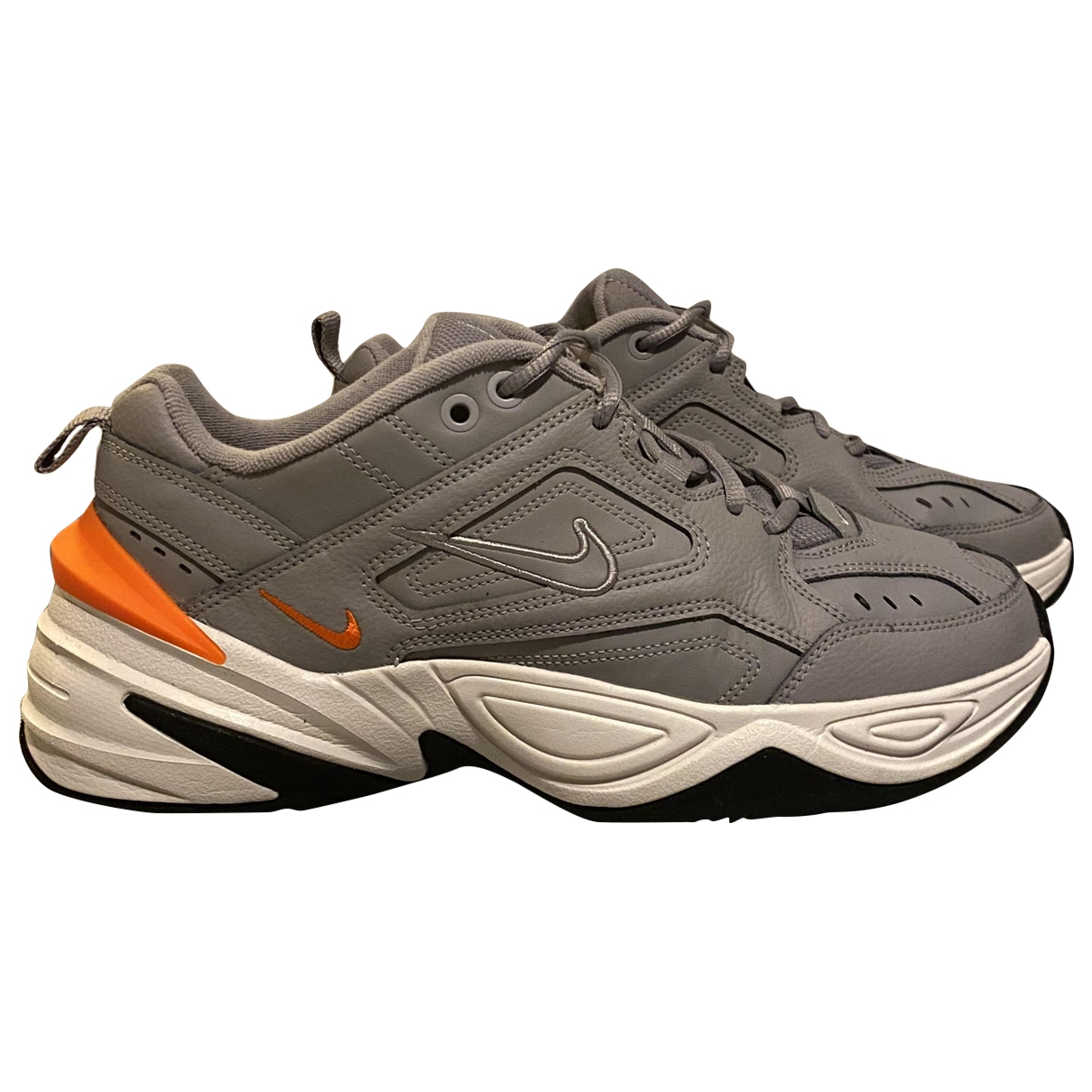 Nike - Baskets M2K Tekno pour homme en caoutchouc - gris