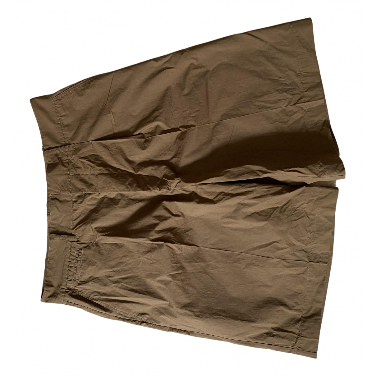 Lemaire \N Brown Cotton Shorts for Men L International