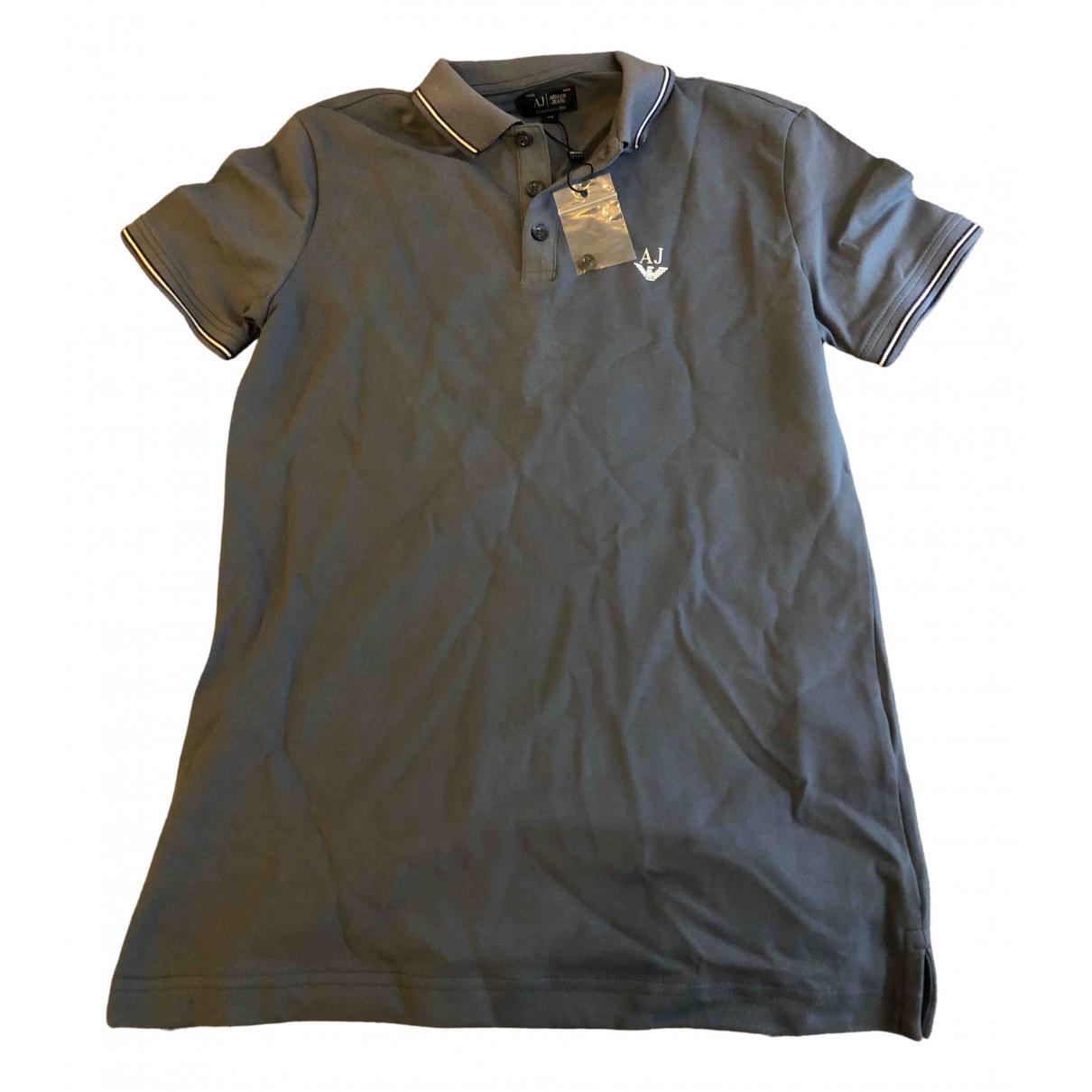 Armani Jean - Polos   pour homme en coton - gris