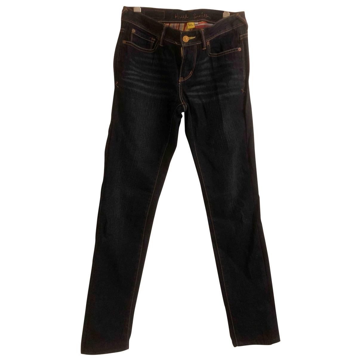 Paul Smith \N Blue Denim - Jeans Trousers for Women 42 IT