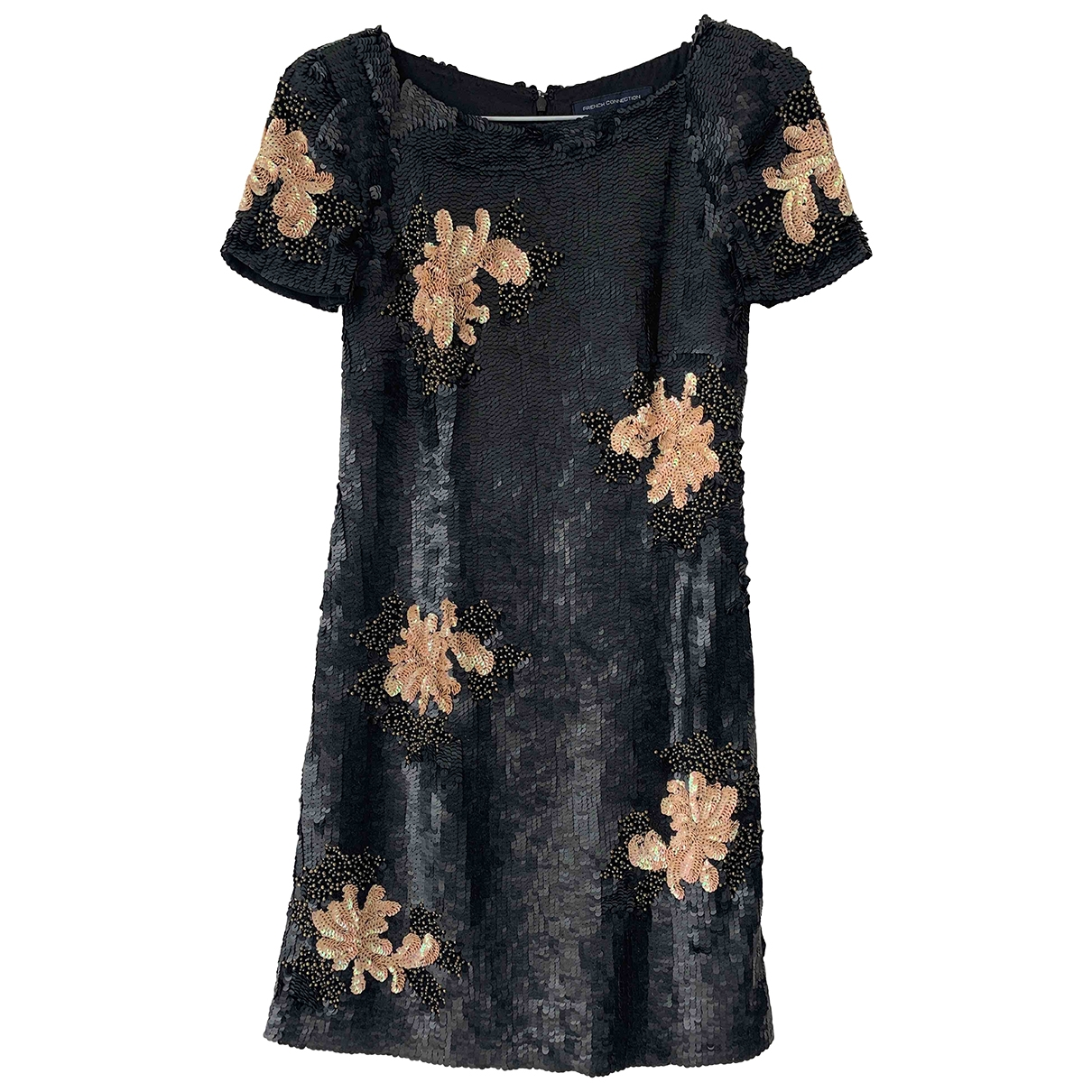 French Connection \N Black Glitter dress for Women 6 US