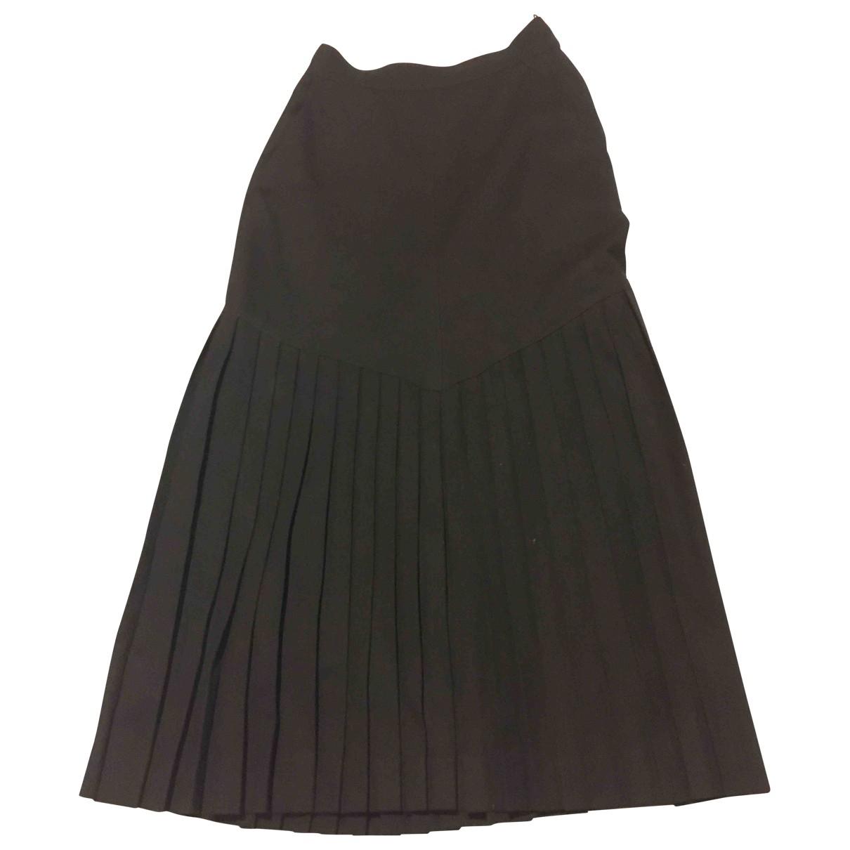 Sport Max - Jupe   pour femme en laine - noir