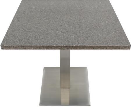 Q405 30X30-SS05-17H 30x30 Storm Gray Quartz Tabletop with 17