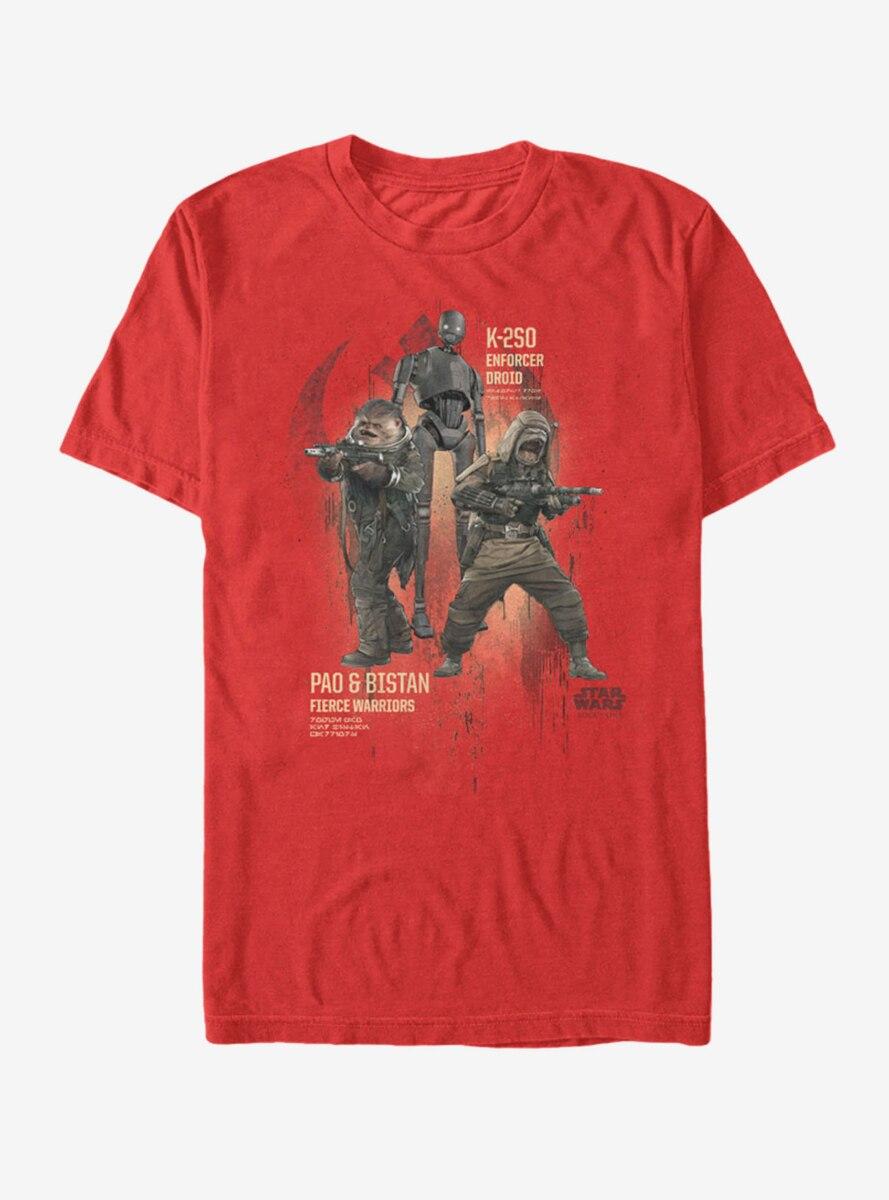Star Wars Rebel Warriors Pao Bistan K-2SO T-Shirt
