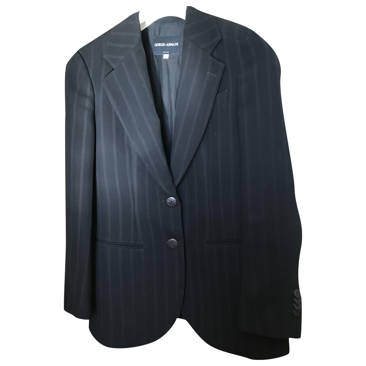 Giorgio Armani N Black jacket for Women 40 IT