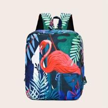 Tropical Flamingo Backpack