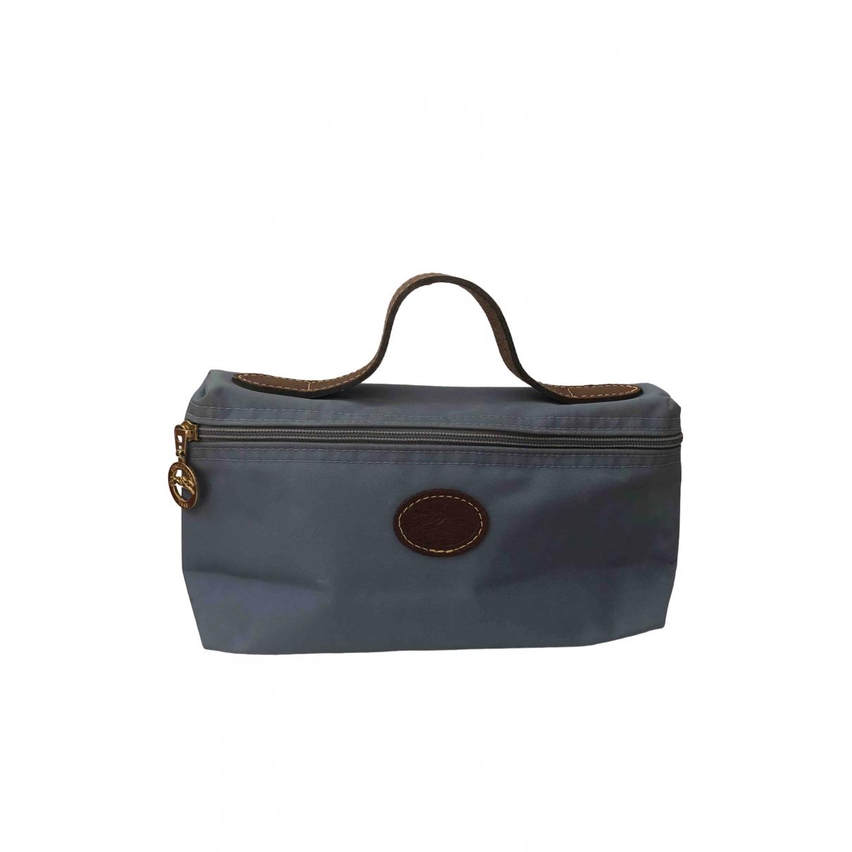 Longchamp \N Blue Cloth Purses, wallet & cases for Women \N