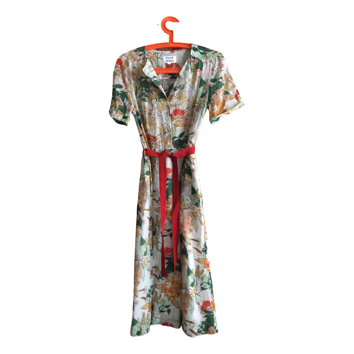 Chloe Stora - Robe   pour femme en coton
