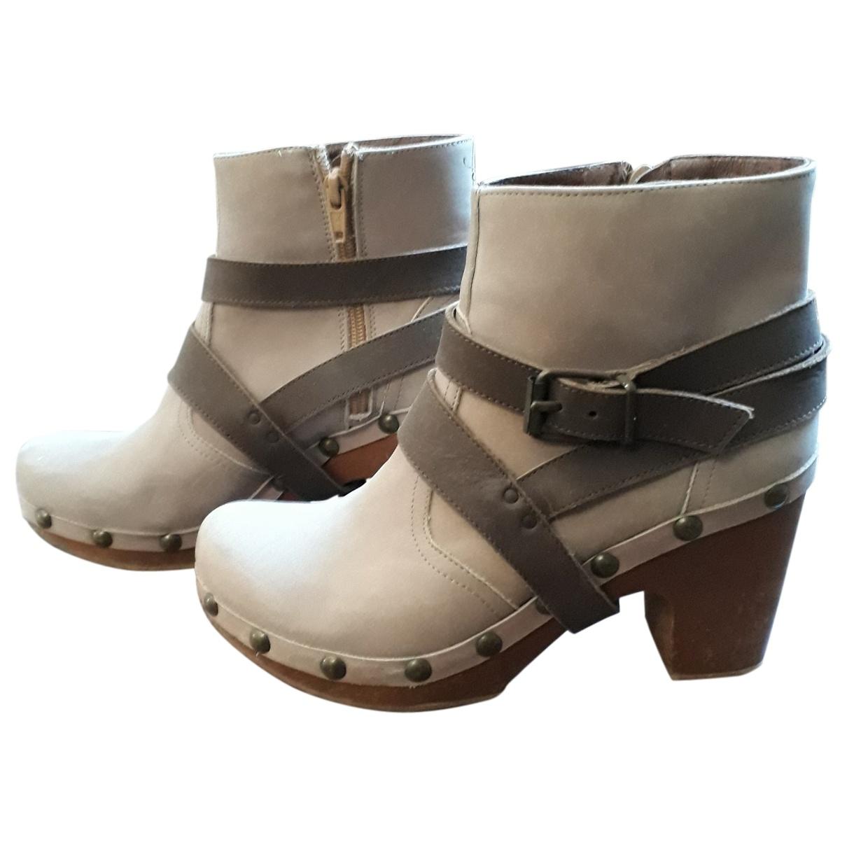 Tatoosh \N Beige Suede Ankle boots for Women 38 EU