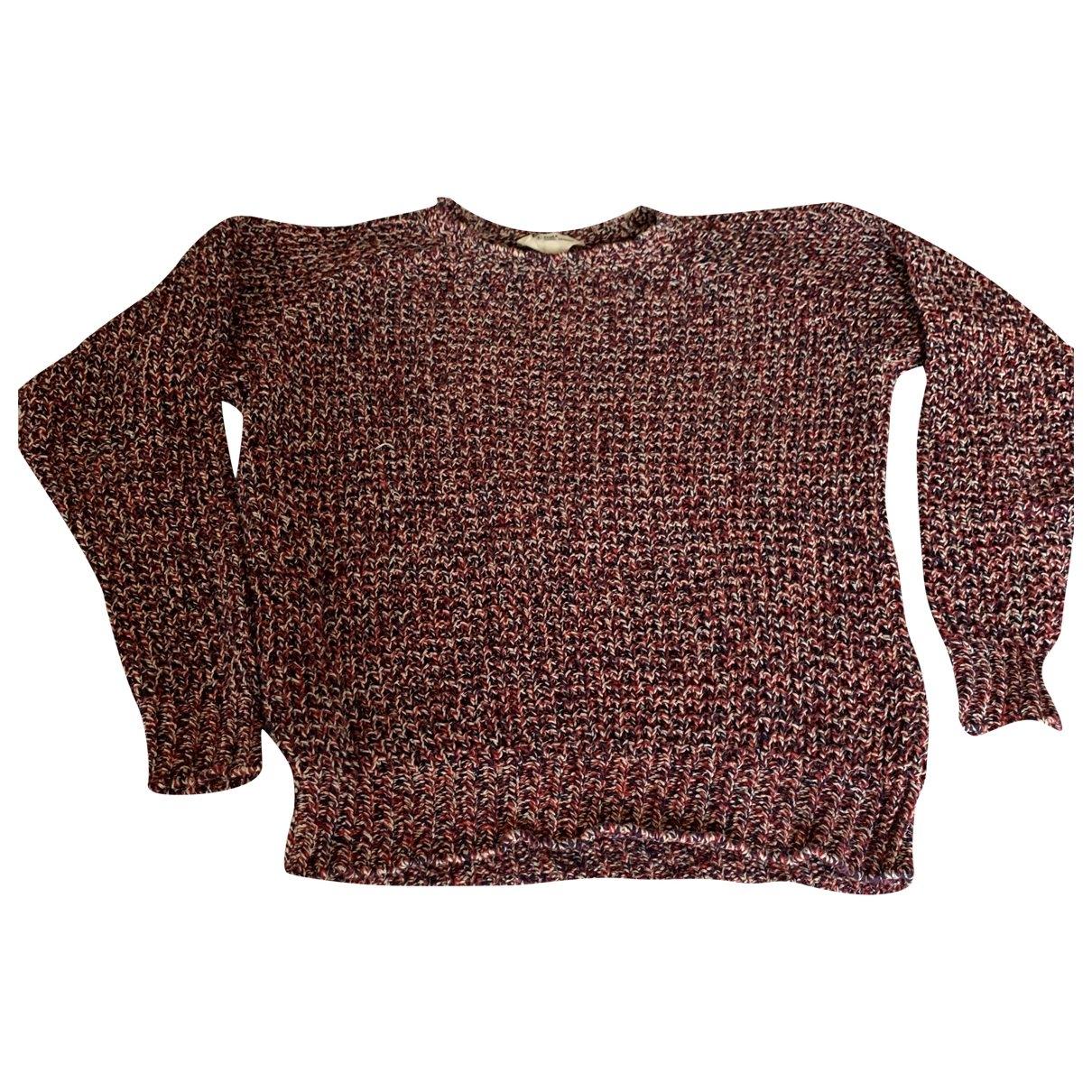 Isabel Marant Etoile - Pull   pour femme en coton - rouge