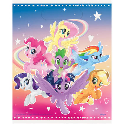 My Little Pony 8 Loot Bags For Birthday Party
